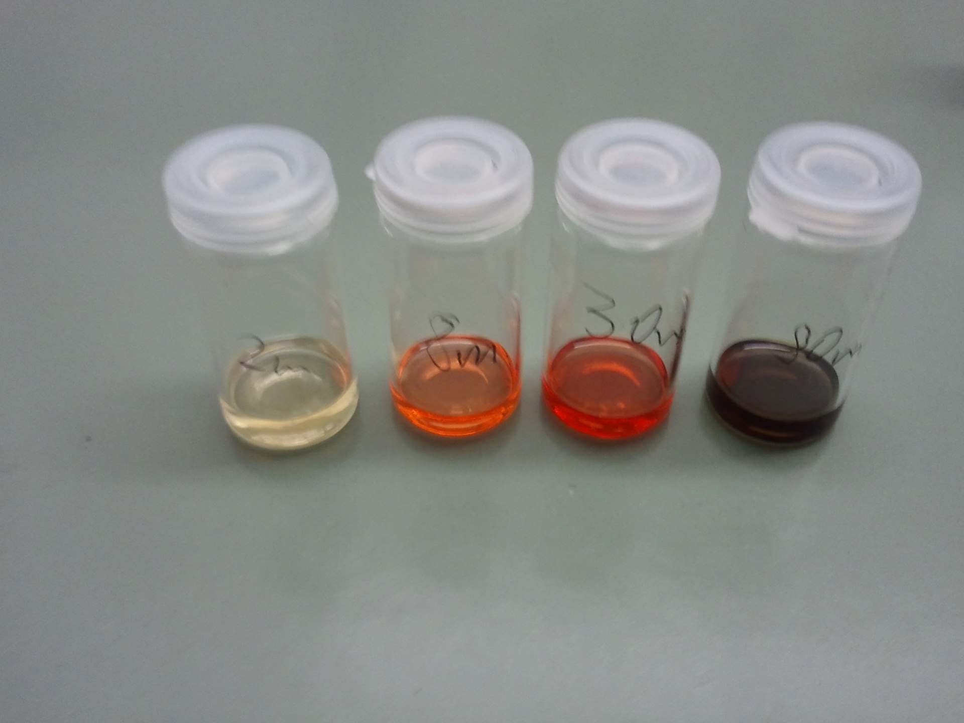 CdSe different synthesis times